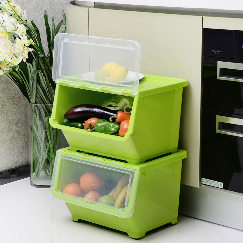 Stackable Organiser With Wheels