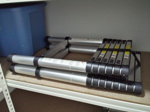 Telescopic Ladder Type C in Storeroom