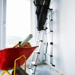 Combi ladder_2,3m_ as lean-to ladder_man